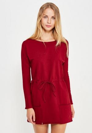 Платье Makadamia. Цвет: бордовый