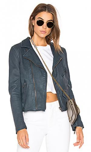 Куртка vintage mc June. Цвет: синий