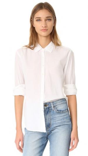 Рубашка на пуговицах Beau XIRENA. Цвет: белый