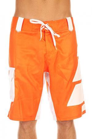Шорты пляжные  Family Orange Picture Organic. Цвет: оранжевый