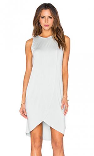 Платье elba LA Made. Цвет: синий