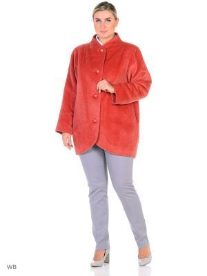 Пальто Gamelia. Цвет: розовый