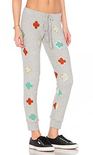 Классические спортивные брюки kizzy Lauren Moshi. Цвет: серый