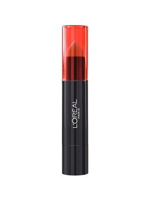 Помада-бальзам для губ Sexy Balm, Infaillible, полупрозрачный, оттенок 109, Такая милашка, 14 г L'Oreal Paris. Цвет: красный