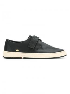 Leather sneakers Osklen. Цвет: чёрный