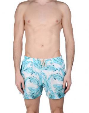 Шорты для плавания MOSAIQUE. Цвет: светло-зеленый