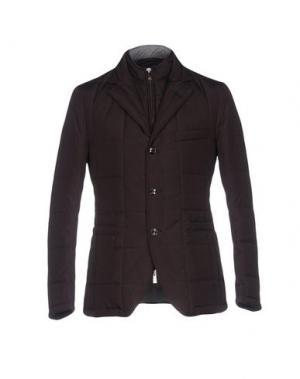 Куртка TOMBOLINI. Цвет: баклажанный