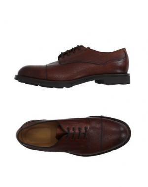 Обувь на шнурках EDWARD GREEN. Цвет: какао