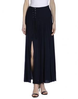Длинная юбка KORALLINE. Цвет: темно-синий