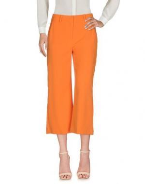 Брюки-капри HANITA. Цвет: оранжевый