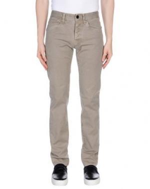 Повседневные брюки COCHRANE. Цвет: серый