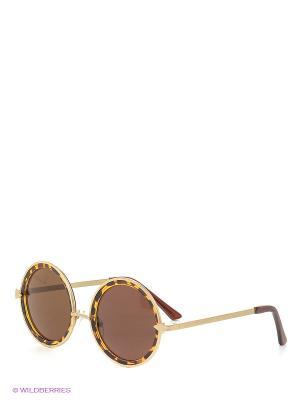 Солнцезащитные очки To be Queen. Цвет: коричневый, оранжевый
