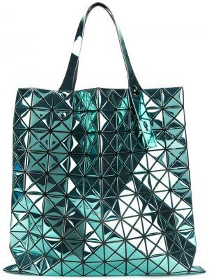 Большая сумка-тоут Prism Bao Issey Miyake. Цвет: металлический