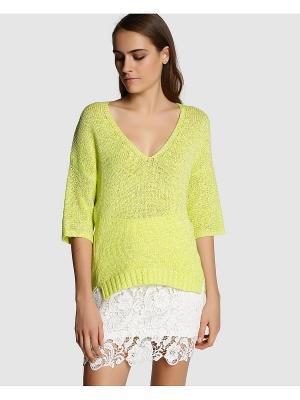 Пуловер FORMULA JOVEN. Цвет: салатовый