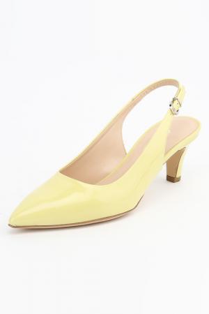 Туфли DANIELE TUCCI. Цвет: желтый