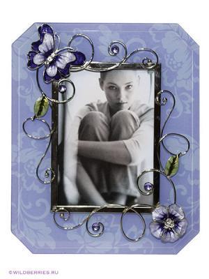 Рамка для фотографии JARDIN D'ETE. Цвет: лазурный (осн.)