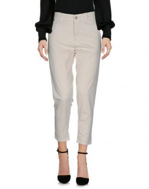 Повседневные брюки FRACOMINA. Цвет: слоновая кость