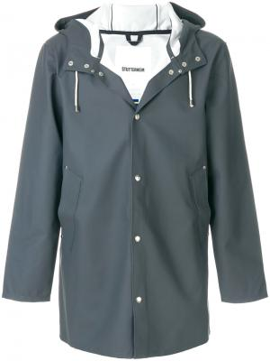 Куртка с капюшоном Stutterheim. Цвет: серый