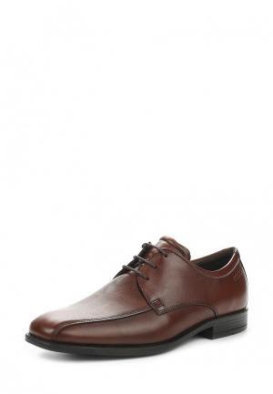 Туфли Ecco. Цвет: коричневый