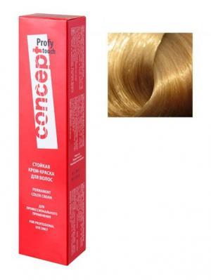 Concept 65365 Стойкая Крем-краска для волос PROFY Touch 10.8 Серебристо-розовый 60 мл (п). Цвет: серебристый