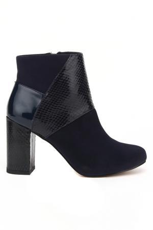 Ботинки MariaMare. Цвет: темно-синий
