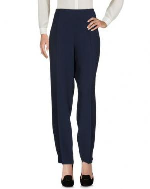 Повседневные брюки GAI MATTIOLO. Цвет: темно-синий