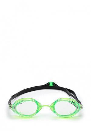 Очки для плавания TYR. Цвет: зеленый