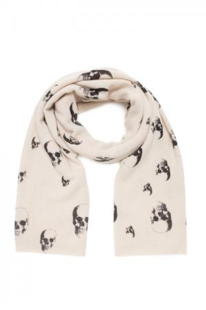 Кашемировый шарф SF-156241 Skull Cashmere