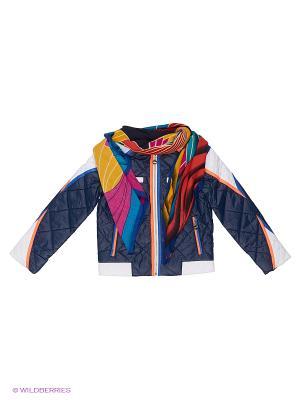 Куртка Fobs. Цвет: синий