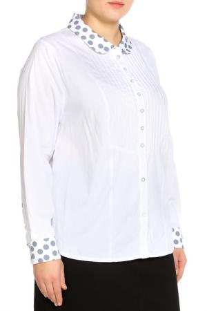 Блуза Terra. Цвет: белый