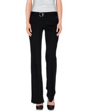 Повседневные брюки NAUGHTY DOG. Цвет: черный