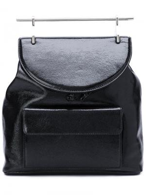 Signature top handle backpack M2malletier. Цвет: чёрный