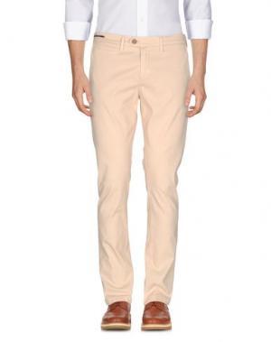 Повседневные брюки TELERIA ZED. Цвет: песочный