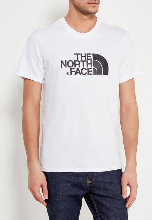 Футболка The North Face. Цвет: белый