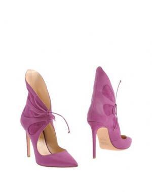 Полусапоги и высокие ботинки ALEJANDRO INGELMO. Цвет: розовато-лиловый
