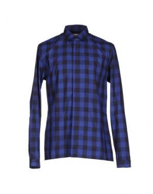 Pубашка MISERICORDIA. Цвет: темно-синий