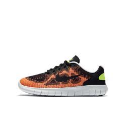 Беговые кроссовки для школьников  Free RN 2017 Nike. Цвет: черный