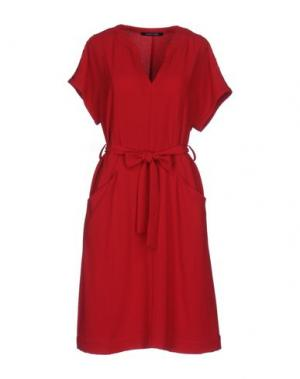 Короткое платье NAUGHTY DOG. Цвет: красный