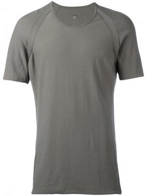 Однотонная футболка Label Under Construction 29YMTS258CO188RG11976808