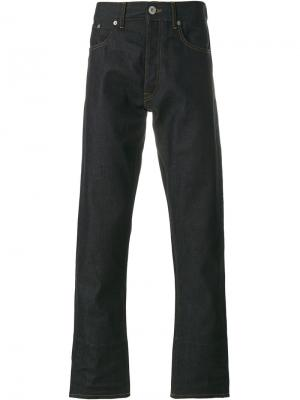 Расклешенные джинсы стандартного кроя Tommy Hilfiger. Цвет: синий