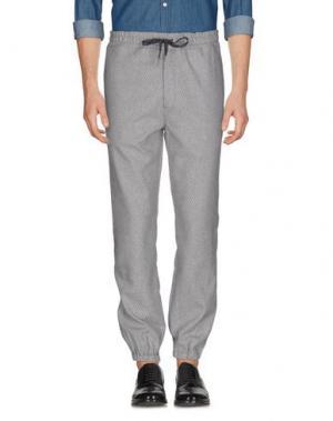 Повседневные брюки YMC YOU MUST CREATE. Цвет: светло-серый