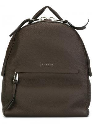 Рюкзак Soft Orciani. Цвет: коричневый
