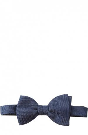 Шелковый галстук-бабочка Lanvin. Цвет: синий