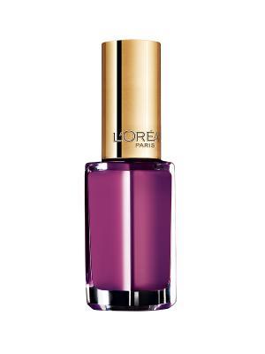 Лак для ногтей Color Riche, оттенок 121, Королевская орхидея, 5 мл L'Oreal Paris. Цвет: фиолетовый