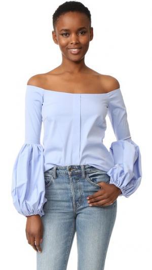 Блуза Giselle Caroline Constas. Цвет: парижская лазурь