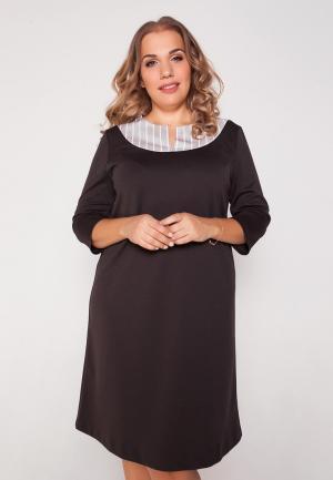Платье Eliseeva Olesya. Цвет: коричневый