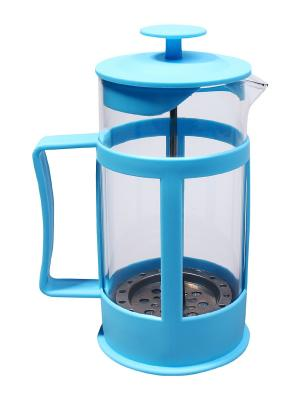 Чайник заварочный/Френчпресс,  0,35 л. Migura. Цвет: голубой