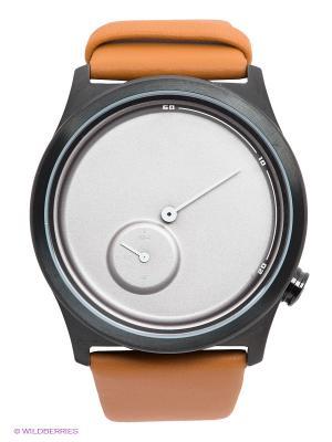 Часы TACS. Цвет: светло-коричневый, черный