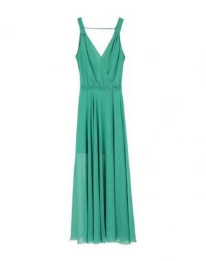 Длинное платье PATRIZIA PEPE. Цвет: зеленый