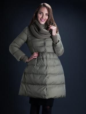 Куртка Clasna. Цвет: оливковый